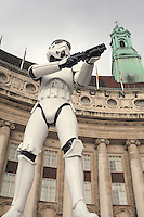 Star Wars Stormtrooper On Guard County Hall - London, UK