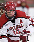 Alex Fallstrom (Harvard - 16) - The Harvard University Crimson defeated the visiting Brown University Bears 3-2 on Friday, November 2, 2012, at the Bright Hockey Center in Boston, Massachusetts.