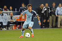 Benny Feilhaber (10) midfield Sporting KC in action.. Sporting Kansas City defeated Montreal Impact 2-0 at Sporting Park, Kansas City, Kansas.