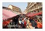 Cartoline da Barriera di Milano<br /> Il mercato di Piazza Foroni