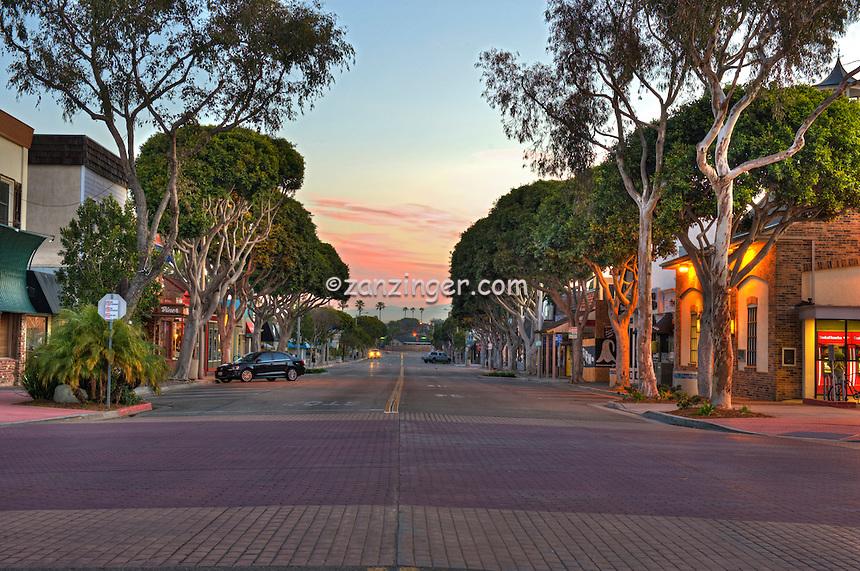 Main Street, Sunrise, Seal Beach, CA