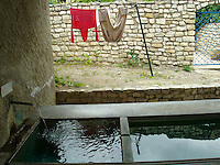 laundry in Midieval village