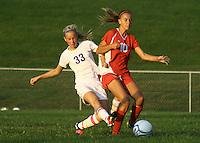 Girls Soccer JV vs West Lafayette 8-17-11