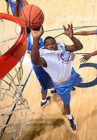 G/F Klay Thompson (R. Santa Margarita, CA / Santa Margarita) shoots the ball during the NBA Top 100 Camp held Saturday June 23, 2007 at the John Paul Jones arena in Charlottesville, Va. (Photo/Andrew Shurtleff)