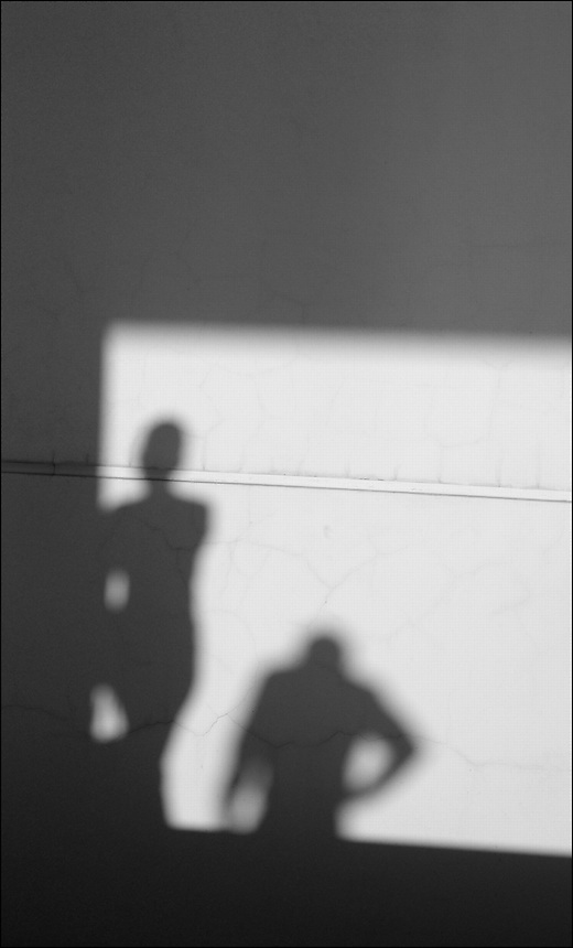 Shadows VIII<br /> From &quot;Miami in Black and White&quot; series. Miami, 2009