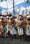 Simbu warriors at Singsing, Mount Hagen, Papua New Guinea
