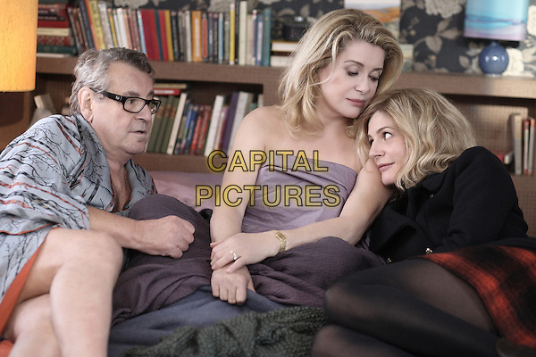 Milos Forman, Catherine Deneuve & Chiara Mastroianni .in Beloved (2011) (Les bien-aimes).*Filmstill - Editorial Use Only*.CAP/FB.Supplied by Capital Pictures.