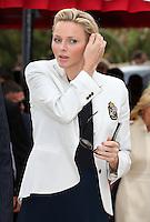 Princess Charlene Of Monaco attends the Monte-Carlo Rolex Masters Final