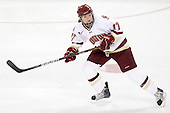 Danielle Welch (BC - 17) - The Boston College Eagles defeated the Boston University Terriers 2-1 in the opening round of the Beanpot on Tuesday, February 8, 2011, at Conte Forum in Chestnut Hill, Massachusetts.