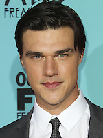 HOLLYWOOD, LOS ANGELES, CA, USA - OCTOBER 05: Finn Wittrock arrives at the Los Angeles Premiere Screening Of FX's 'American Horror Story: Freak Show' held at the TCL Chinese Theatre on October 5, 2014 in Hollywood, Los Angeles, California, United States. (Photo by Celebrity Monitor)