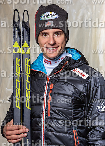 08.10.2016, Olympia Eisstadion, Innsbruck, AUT, OeSV Einkleidung Winterkollektion, Portraits 2016, im Bild Benjamin Moser, Langlauf, Herren // during the Outfitting of the Ski Austria Winter Collection and official Portrait Photoshooting at the Olympia Eisstadion in Innsbruck, Austria on 2016/10/08. EXPA Pictures © 2016, PhotoCredit: EXPA/ JFK