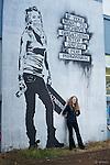 Kakaako Graffiti backgrounds for Aloe's senior portraits.