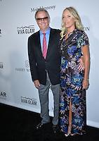 LOS ANGELES, CA. October 27, 2016: Peter Fonda &amp; Margaret DeVogelaere at the 2016 amfAR Inspiration Gala at Milk Studios, Los Angeles.<br /> Picture: Paul Smith/Featureflash/SilverHub 0208 004 5359/ 07711 972644 Editors@silverhubmedia.com