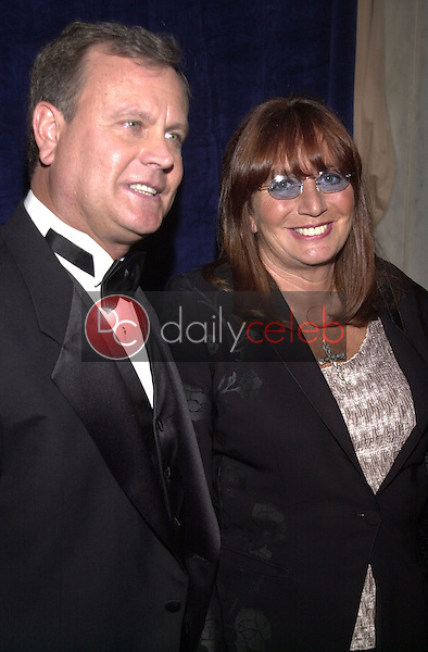 Penny Marshall and date Tim