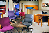 Office Chair Showroom, interior, lifestyle; decor;