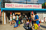The Fourth Annual History Day at Deno's Wonder Wheel Amusement Park and The Coney Island History Project, has family fun music, history, and entertainment at historic Coney Island.