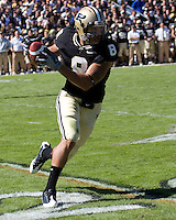 October 03, 2008: Purdue wide receiver Keith Smith. The Penn State Nittany Lions defeated the Purdue Boilermakers 20-06 on October 03, 2008 at Ross-Ade Stadium, West Lafayette, Indiana.