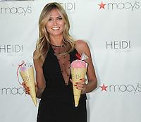 NEW YORK, NY-June 23: Heidi Klum host of HEIDI by HEIDI KLUM Lingerie Ice Cream Truck & Shopping Party  at Macy's Herald Square   in New York. NY June 23, 2016. Credit:RW/MediaPunch
