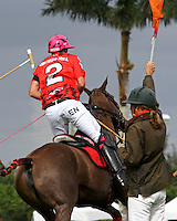 WELLINGTON, FL - MARCH 05: Orchard Hill's Polito Pieres in the C V Whitney Cup Final as Valiente defeats Orchard Hill 14-11,  at the International Polo Club, Palm Beach on March 05, 2017, in Wellington, Florida. (Photo by Liz Lamont/Eclipse Sportswire/Getty Images)