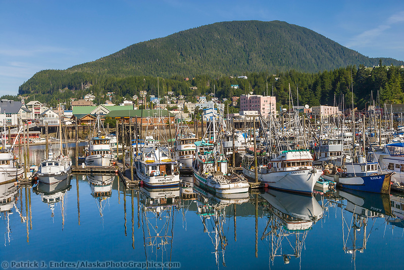 Thomas Basin harbor, Ketchikan, Alaska.