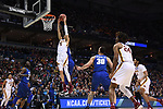 MILWAUKEE, WI - MARCH 16:  Minnesota Gophers guard Amir Coffey (5) goes up for a contested dunk during the second half of the 2017 NCAA Men's Basketball Tournament held at BMO Harris Bradley Center on March 16, 2017 in Milwaukee, Wisconsin. (Photo by Jamie Schwaberow/NCAA Photos via Getty Images)
