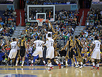 Justin Jackson of the Bearcats goes up strong to the basket. Cincinnati defeated Missouri 78-63 during the NCAA tournament at the Verizon Center in Washington, D.C. on Thursday, March 17, 2011. Alan P. Santos/DC Sports Box
