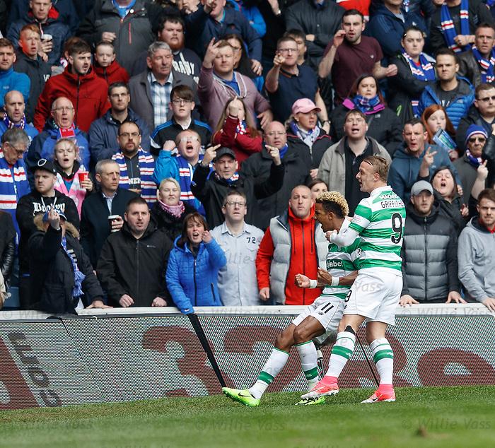 Scott Sinclair celebrates