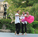 Gallim Dance at The Pocantico Center, Kykuit, New York.