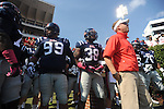 Ole Miss Coach Hugh Freeze vs. Auburn at Vaught-Hemingway Stadium in Oxford, Miss. on Saturday, October 13, 2012.