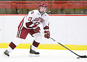 Kaitlin Spurling (Harvard - 17) - The Harvard University Crimson defeated the St. Lawrence University Saints 8-3 (EN) to win their ECAC Quarterfinals on Saturday, February 26, 2011, at Bright Hockey Center in Cambridge, Massachusetts.