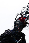 A stiltwalker at the 2008 Montreal Jazz Festival.
