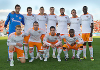 07 May 2011: The Houston Dynamo starting eleven during an MLS game between the Houston Dynamo and the Toronto FC at BMO Field in Toronto, Ontario..Toronto FC won 2-1.