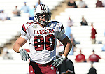 13 October 2007: South Carolina's Andy Boyd. The University of South Carolina Gamecocks defeated the University of North Carolina Tar Heels 21-15 at Kenan Stadium in Chapel Hill, North Carolina in an NCAA College Football Division I game.