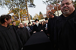 Funeral of the late  Alexander Brenner, former chairperson of Berlin's Jewish community