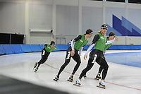 SCHAATSEN: SALT LAKE CITY: Utah Olympic Oval, 12-11-2013, Essent ISU World Cup, training, Koen Verweij, ©foto Martin de Jong