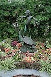 Fairmount Park, statue at Horticultural Center..Philadelphia, Pennsylvania, PA USA.  Photo copyright Lee Foster, 510-549-2202, lee@fostertravel.com, www.fostertravel.com. Photo 242-30627