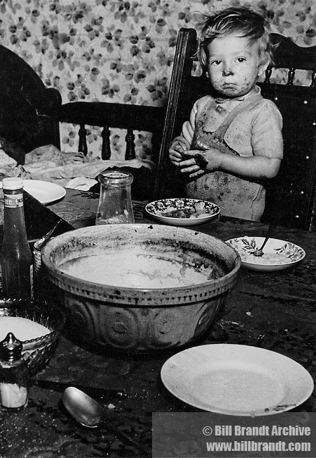 Unemployed miner's child, 1937
