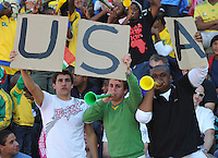 Fans of USA...Football - International Friendly - USA v Australia - Ruimsig Stadium, June 5, 2010.