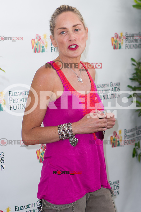 """Sharon Stone at the 23rd Annual """"A Time for Heroes"""" Celebrity Picnic Benefitting the Elizabeth Glaser Pediatric AIDS Foundation. Los Angeles, California. June 3, 2012. ©mpi22/MediaPunch Inc."""