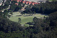 aerial photograph National Cemetery Presidio of San Francisco