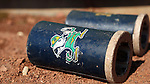 CARY, NC - MARCH 05: Notre Dame batting weights. The Monmouth University Hawks played the University of Notre Dame Fighting Irish on March 5, 2017, at USA Baseball NTC Field 2 in Cary, NC in a Division I College Baseball game, and part of the Irish Classic tournament. Notre Dame won the game 4-0.