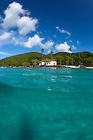 Split level view of Cinnamon Bay<br />