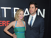 NEW YORK, NY - OCTOBER 4: Emily Blunt and John Krasinski at 'The Girl On The Train' Premiere at Regal E-Walk on October 4, 2016 in New York City. Credit: John Palmer/MediaPunch