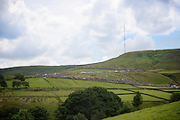 even the approach to Holme Moss Hill (521m/4.7km/7%) was spectacular<br /> <br /> 2014 Tour de France<br /> stage 2: York-Sheffield (201km)