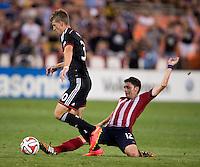Washington, DC - July 20, 2014: D.C. United defeated Chivas USA 3-1 at RFK Stadium.