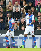 Blackburn Rovers' Lucas Joao celebrates scoring his sides second goal<br /> <br /> Photographer David Shipman/CameraSport<br /> <br /> The EFL Sky Bet Championship - Norwich City v Blackburn Rovers - Saturday 11th March 2017 - Carrow Road - Norwich<br /> <br /> World Copyright &copy; 2017 CameraSport. All rights reserved. 43 Linden Ave. Countesthorpe. Leicester. England. LE8 5PG - Tel: +44 (0) 116 277 4147 - admin@camerasport.com - www.camerasport.com