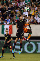 Mexico midfielder Jesus Zavala (17). Mexico defeated the Ivory Coast 4-1 during an international friendly at MetLife Stadium in East Rutherford, NJ, on August 14, 2013.