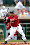 10 March 2006: Raul Chavez, catcher for the Houston Astros, at bat during a Spring Training game against the Washington Nationals. The Astros defeated the Nationals 8-6 at Osceola County Stadium, in Kissimmee, Florida...Mandatory Photo Credit: Ed Wolfstein..