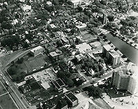 1969 October 14.UNDATED..Historical.Ghent (R-43)..View from South showing The Hague & Stockley Gardens..HAYCOX PHOTORAMIC INC..NEG# A-4.NRHA#..