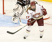 Danielle Welch (BC - 17) - The Boston College Eagles defeated the visiting Brown University Bears 5-2 on Sunday, October 24, 2010, at Conte Forum in Chestnut Hill, Massachusetts.